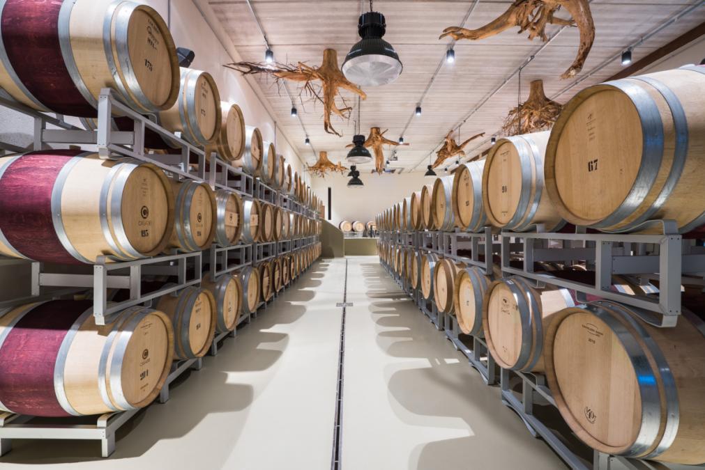 Italian red wine Tuscany